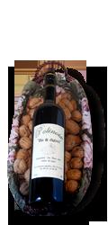 Coffret 1 bouteille vin de noix